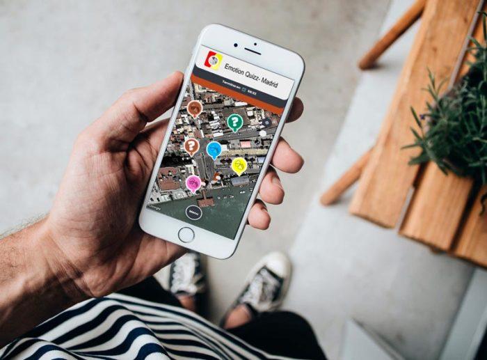 Aplicación móvil Emotion Quizz