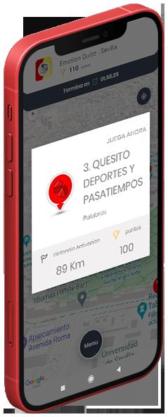 Pantalla Juego de preguntas Trivial App - Emotion Quizz